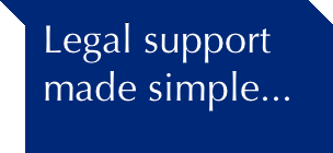image of legal support made simple