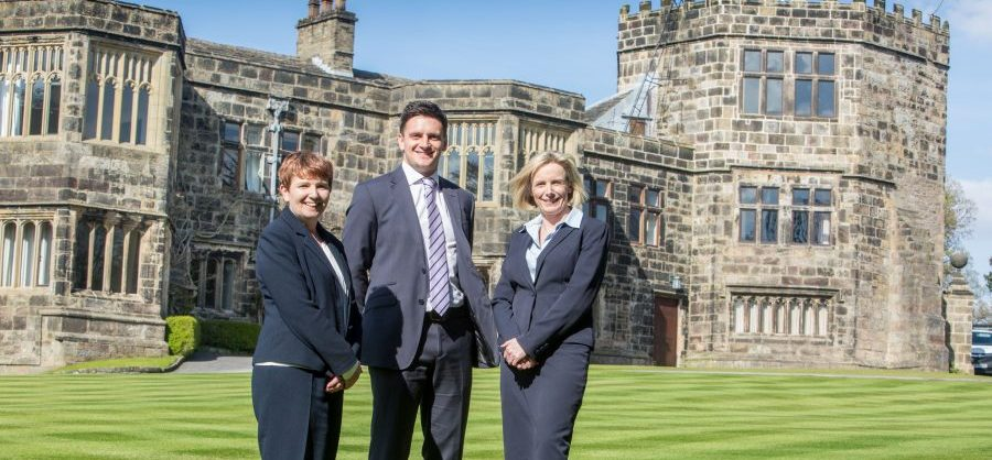Family Law Team: Elizabeth Hebden, Andrew Foulds and Amanda Worger